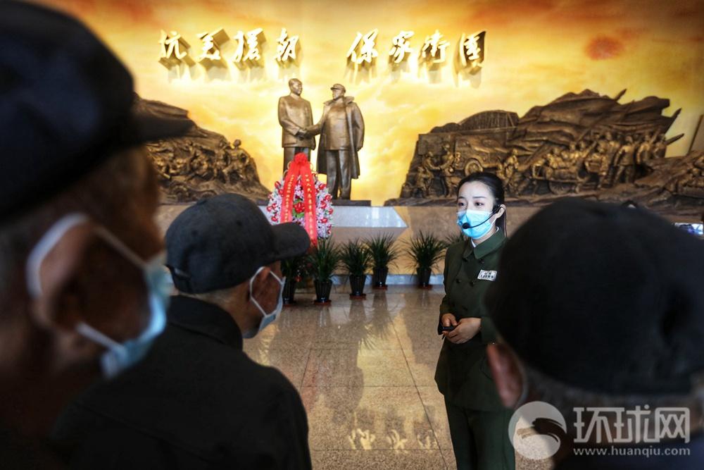 抗美援朝纪念馆迎来大批民众参观,近几日预约爆满