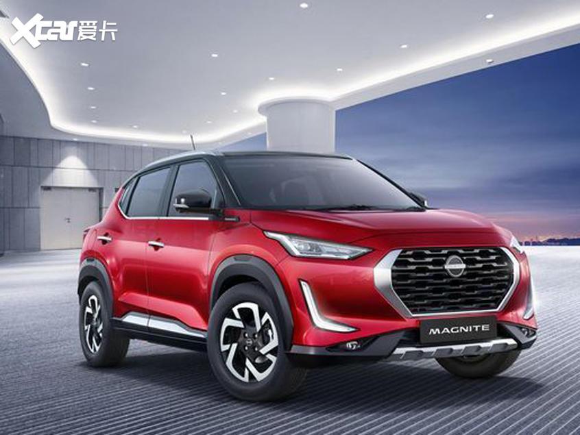日产全新小型SUV MAGNITE官图 明年发布