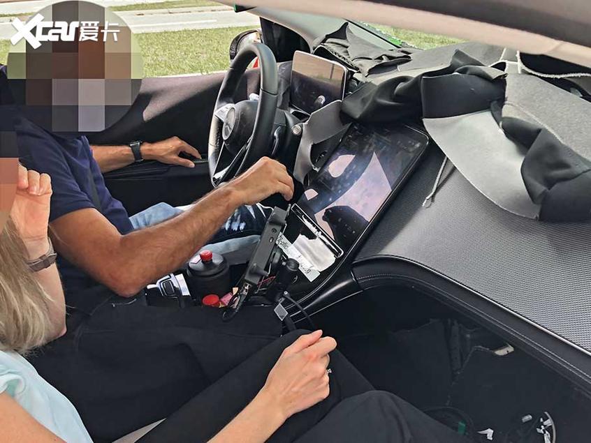 奔驰EQS SUV谍照曝光 续航里程达700km