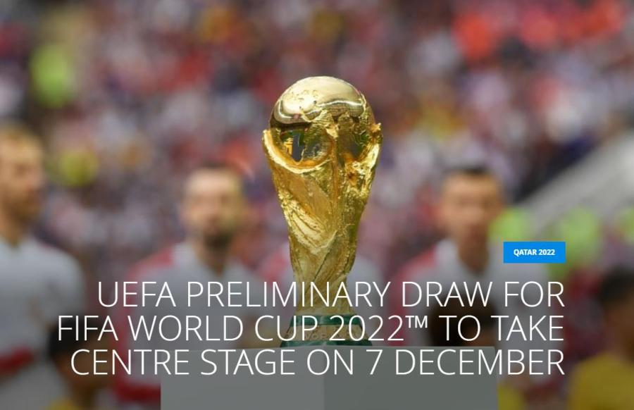 《【沐鸣2娱乐总代理】世预赛欧洲区抽签12月7日线上举行 各国代表不到场》
