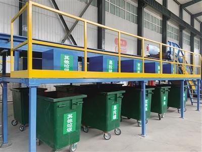 场地扩建 区域细分 垃圾处置量增加 新城区生活垃圾分拣中心提档升级