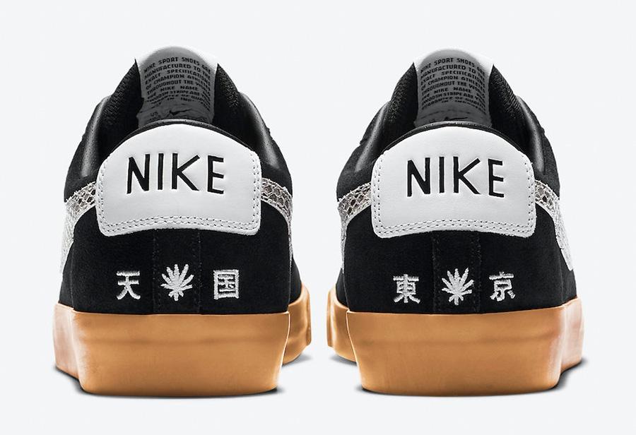 与日本时装品牌新联名!这款 Nike 鞋近期曝光度太高了!