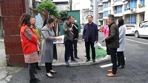 王瑞华、邹再蓉督导检查省级文明城市创建工作