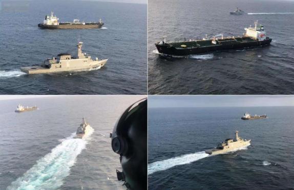 要叫板就叫板美国!伊朗制裁美外交官后,俄军舰护航伊朗出口石油