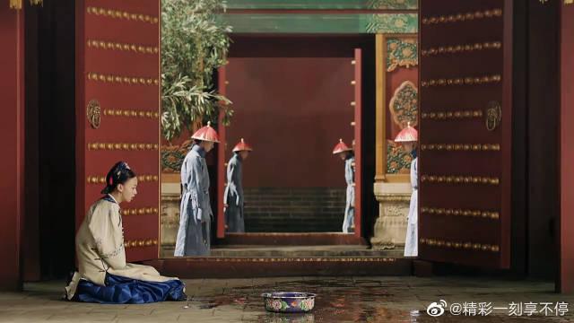 皇上火急火燎赶往皇后宫里~ 中途被璎珞给撞了!