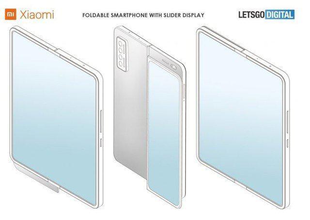 小米折叠屏手机 设计专利曝光 屏幕可上下滑动
