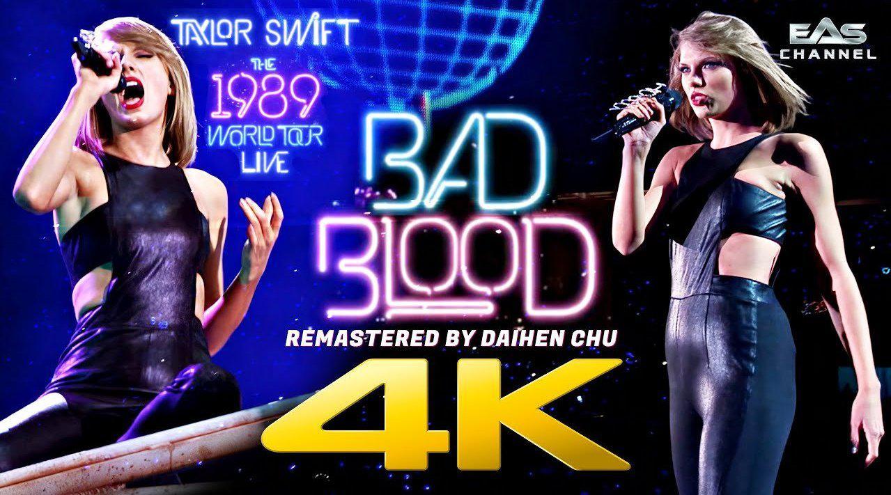 回顾霉霉Taylor Swift《Bad Blood》经典现场