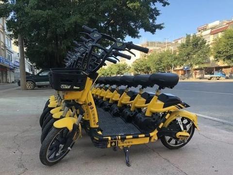 消失多日!梧州岑溪共享电单车回来啦!