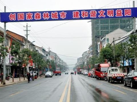 益阳市最有实力的5个镇,其中一个镇既有铁路,又有工业开发区