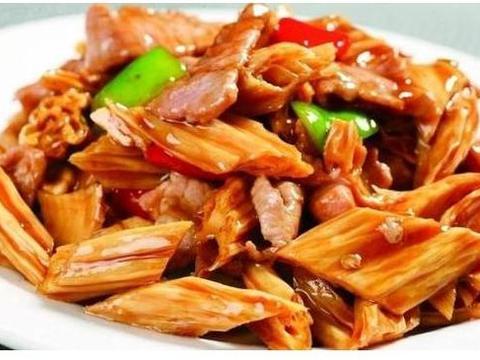 美味家常菜:秘制嫩腰片,香煎藕饼,家常腐竹