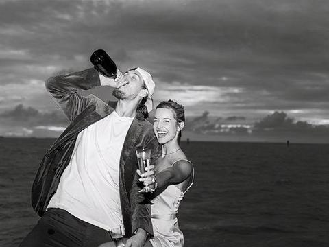 游艇求婚成功!热火悍将签终身合同,全明星队友:我能当花童吗?