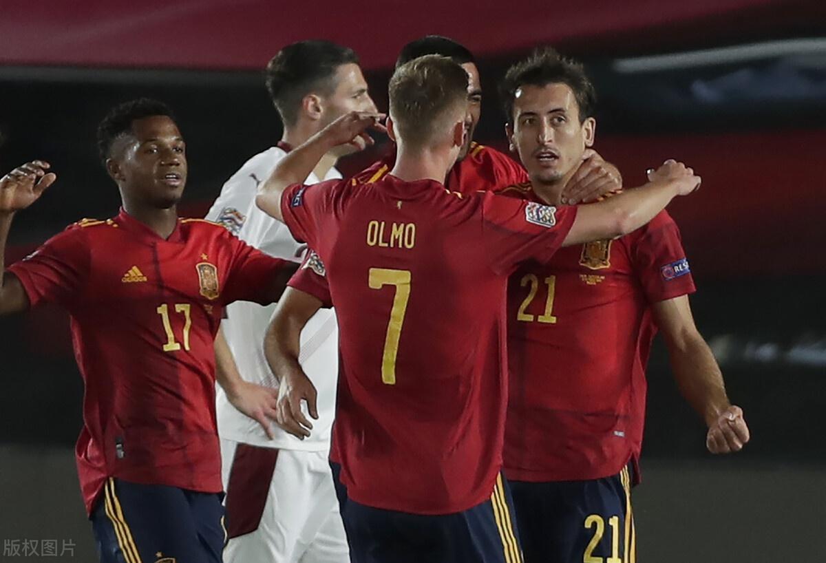 欧国联最新积分战报 阿森纳大将送礼西班牙领跑 德国首胜升第2