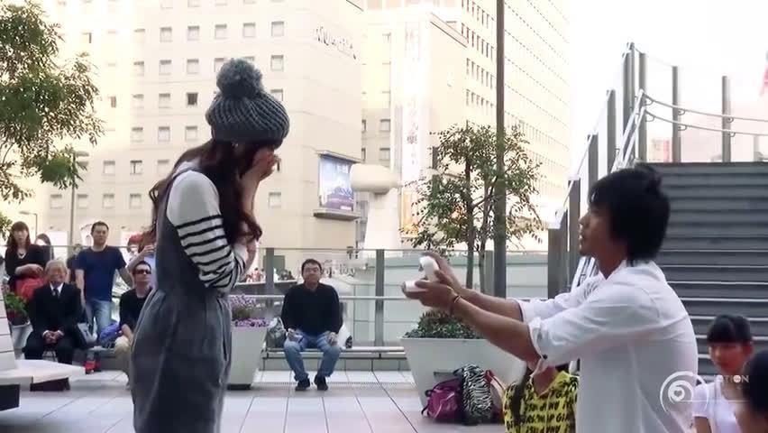 日本教科书般的求婚,经典再续,值得再看!