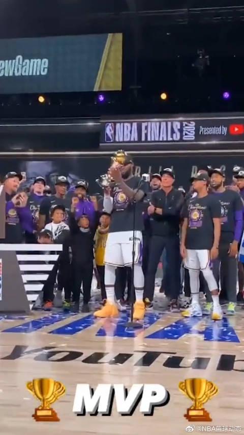 联盟第一人实至名归,詹姆斯获得第四次总冠军,当选总决赛MVP