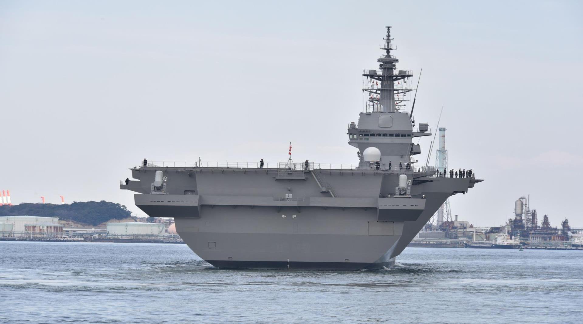 示好中国果然是幌子,菅义伟致命意图公开,大批战舰紧急赶赴南海