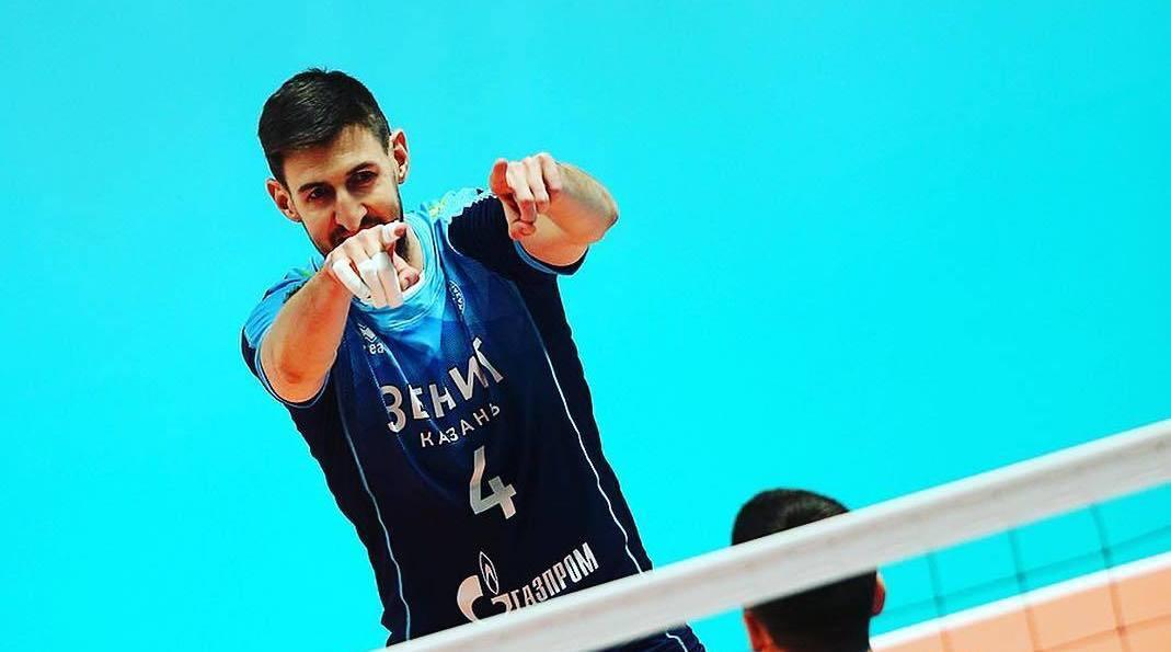 Artem Volvich!212的沃尔维奇正在为喀山泽尼特征战第五个赛季!