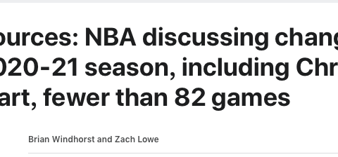 """NBA74年头一遭 多队老板""""逼宫"""" 联盟被迫低头 球迷可以欢呼了"""