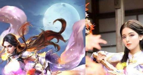 杨超越实力还原露娜,明星玩C圈为何遭吐槽?二次元门槛这么高?