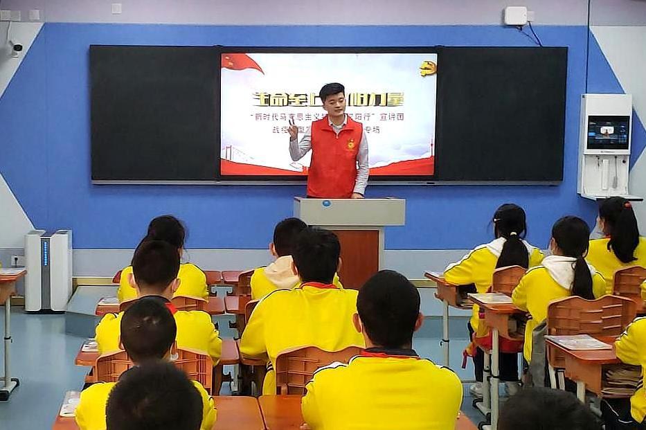同上一节思政课,武汉市楚才中学1344名学生,听战疫故事