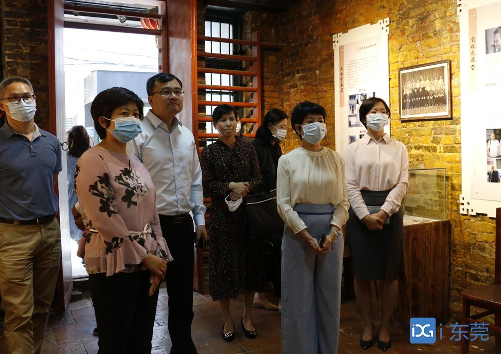 """东莞市政协到常平开展""""东莞红色文化遗址保护和利用""""专题调研图片"""