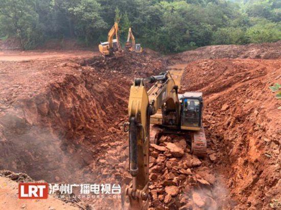 泸州二环路建设又有新进展 南段全面开工