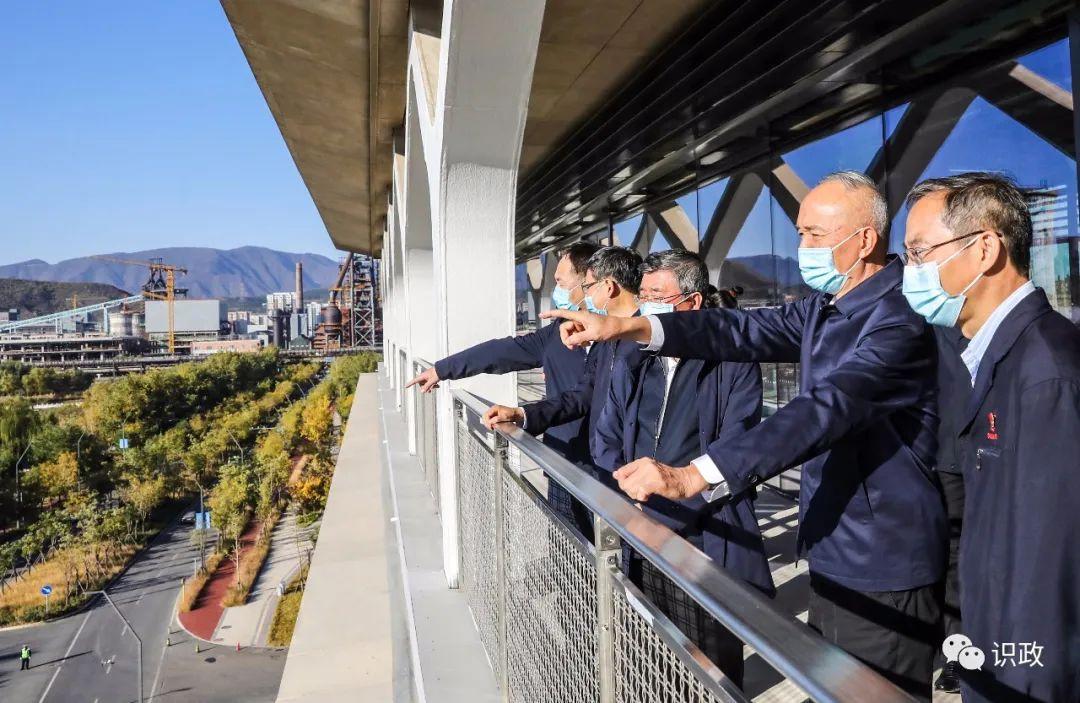 蔡奇:建设好新首钢地区,着力打造新时代首都城市复兴新地标