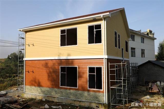 农村造房如同搭积木!竹山县大力推广装配式建筑