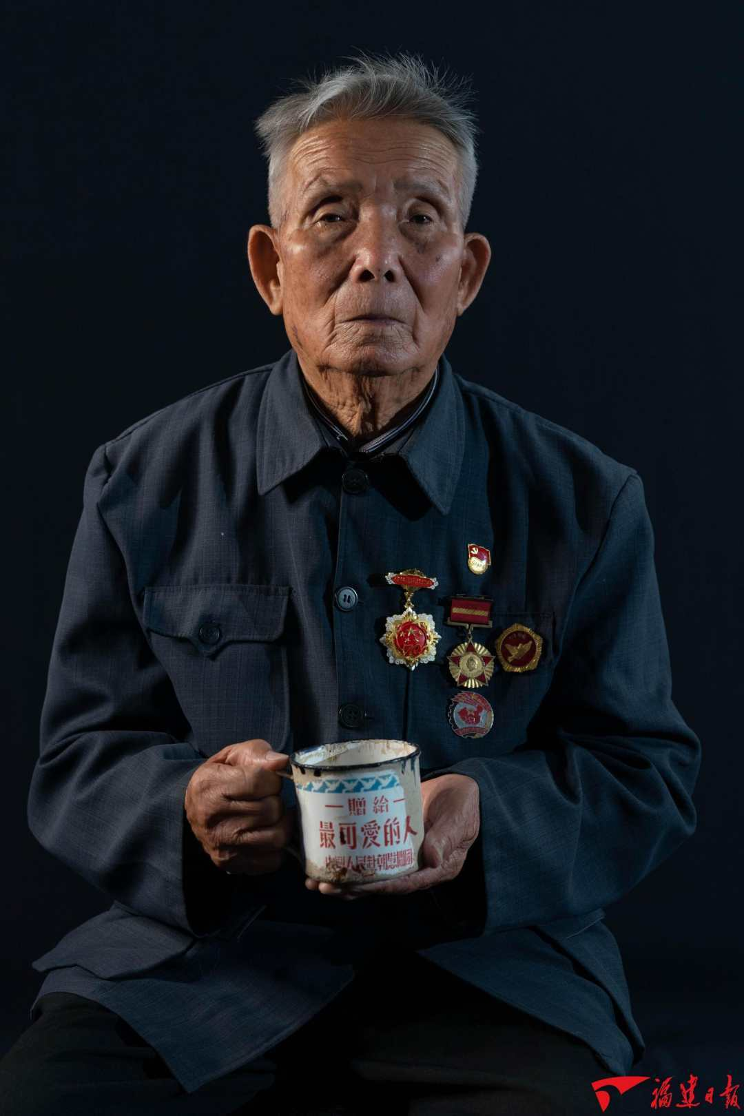 致敬!抗美援朝的老战士吴清波