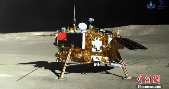 嫦娥四号着陆器完成第23月昼工作 测得月表辐射情况
