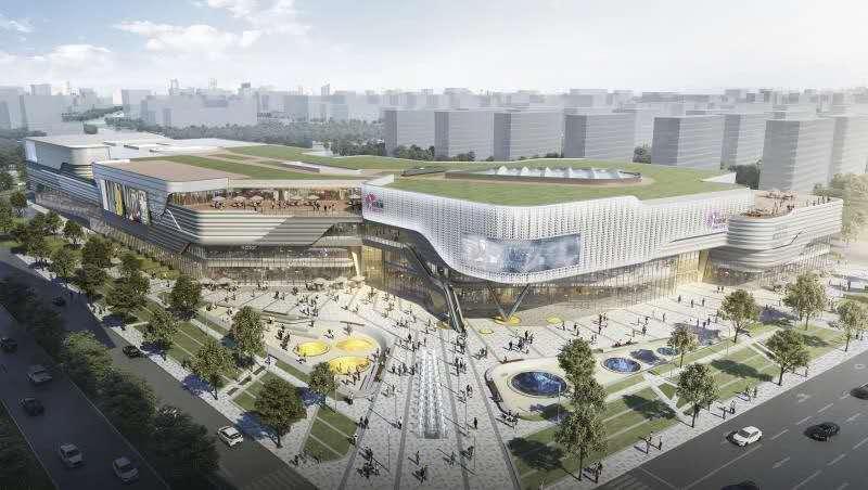 上海松江又建一大型商圈,建筑面积超15万平米,大型商超、品牌院线已入驻