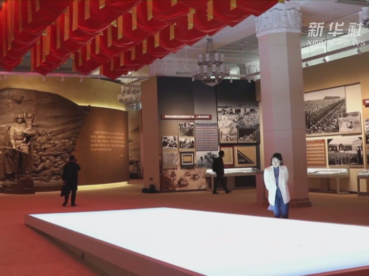 走进中国人民革命军事博物馆 致敬最可爱的人