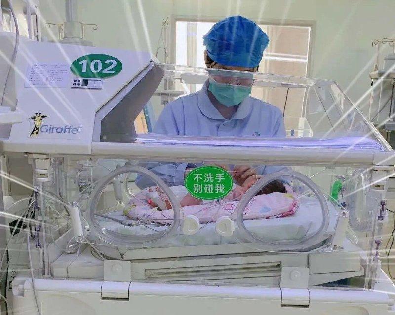 宁阳县一院:全力救治新生宝宝,家属送锦旗致谢新生儿科