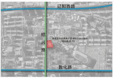 市北中央商务区一地块控规调整 将建13层新型产业用房塔楼