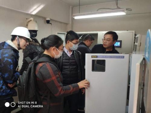 生态环境部环境工程评估中心到我市开展制浆造纸行业废水在线监控监管技术调研