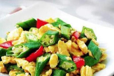 美食优选:杏鲍菇炒玉米,辣子烧肥肠,酸菜鱼,秋葵炒鸡蛋的做法