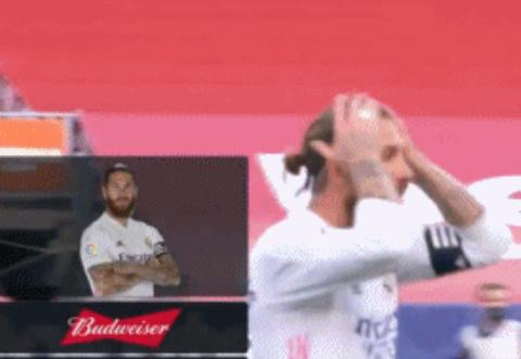 全场最佳球员!拉莫斯读秒时用特殊动作防下梅西,进球数创纪录
