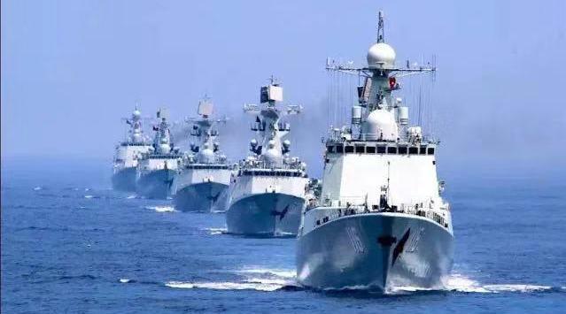 生日快乐!人民海军第一支驱逐舰部队