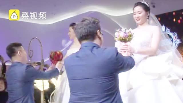 辽宁援鄂双胞胎姐妹完婚,马云隔空送祝福