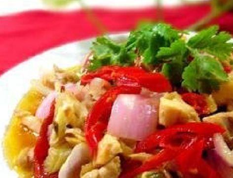 美味家常菜:剁椒茶油蒸鸭血,小炒牛肉,泡椒鸡片