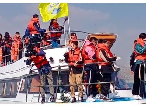《奔跑吧》黄河篇路透,两人缺席成遗憾,蔡徐坤呆坐船头实力抢镜