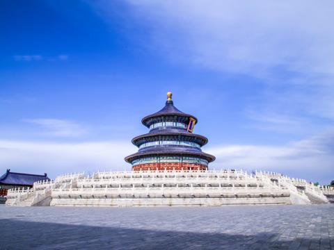 北京被忽略的一处古建筑,总高38米,殿内有28根金丝楠木大柱