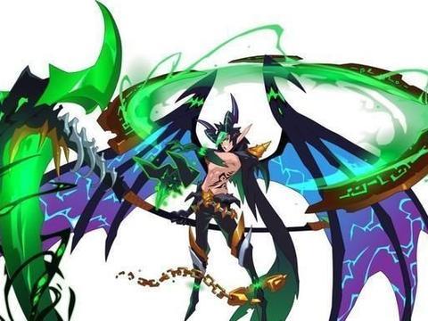 魔镰刀在极夜中翩翩起舞,魔鬼的翅膀遮住了天空