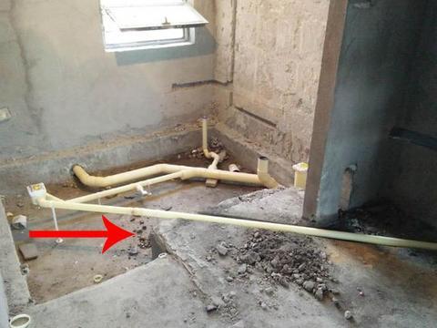 卫生间同层排水,砌道假墙做不降板排水,维修方便防水只要做一次