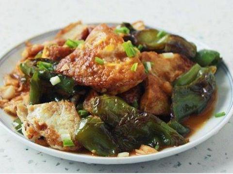 美味家常菜:炸红薯丸子,豆豉尖椒炒煎蛋,百叶包肉