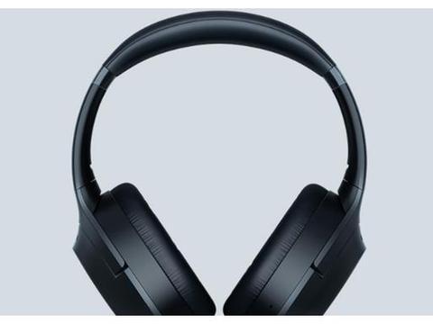 主动降噪、佩戴检测、THX认证,雷蛇 寂星鲨头戴蓝牙耳机