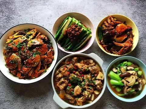 重阳节,为爸妈烧一餐饭,荤素共5盘菜,朋友:果然是贴心小棉袄