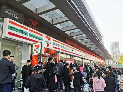 刚刚!河南首家7-11便利店在郑州开业,现场超级火爆!