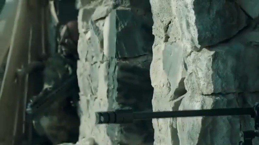 土耳其酷帅狙击手已上线,干掉恐怖分子,看着过瘾的很