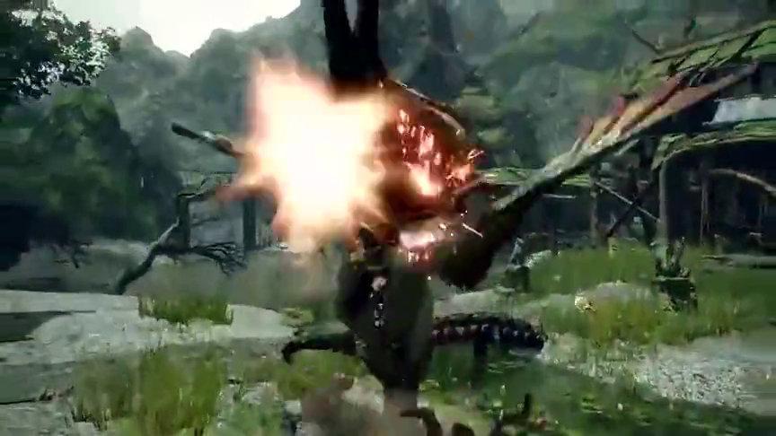 3分钟看个够!《怪物猎人崛起》实机演示集合版