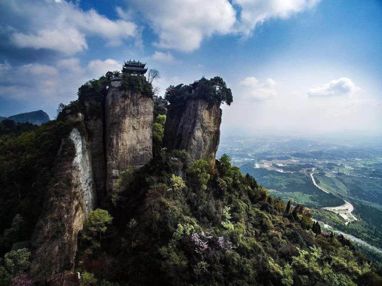 四川一座容易读错的山,是剑门蜀道国家级风景名胜区的组成部分